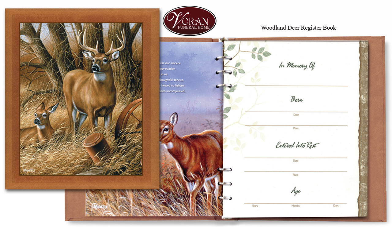 Woodland Deer Register Book