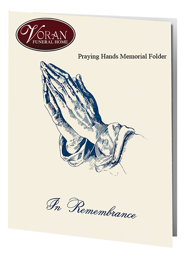 Praying Hands Folders
